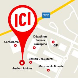 Auchan Carte De Fidelite En Ligne.Auchan Ajaccio Centre Commercial Atrium A Ajaccio Sarrola Carcopino